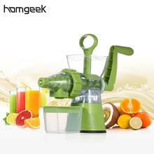 High Quality Home Manual Juicer Fruit Squeezer 100% Healthy Natural Fruit Juice Easy To Operate Juicing Machine Juice Extractor(China)
