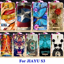 DIY Flexible Soft TPU Silicon Cell Phone Case For JIAYU S3 Housing Bags Skin Shell Covers For JIAYU S3 Protector Shield Cases