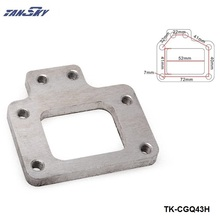 TANSKY -Turbo Manifold Exhaust Flange 4 Bolt For T28 GT28 GT28R GT28RS For Nissan TK-CGQ43H(China)