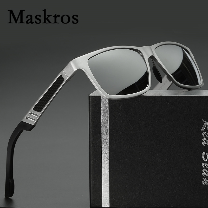 Maskros Aluminum Magnesium HD Polarized Mens Sunglasses Men Coating Uv400 Polarizing Sun Glasses for Male Driving Shades Man<br><br>Aliexpress