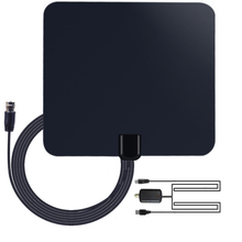 AGEAR Digital Indoor TV Antenna Amplified 50 Miles Range with Detachable Antena TV digital and 13ft Coaxial Cable HDTV Antenna