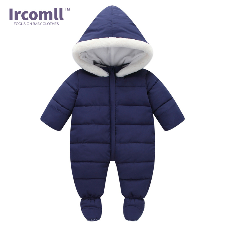 Thick Infant one-pieces Romper For Baby Newborn Inside Plus Velvet Soft Winter Toddler Overalls Baby Clothes Toddler body suit<br>