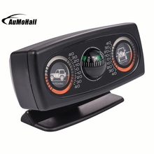 Multifunction Car Vehicle Compass Car Inclinometer Slope Measure Inclination Tool(China)
