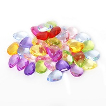 Hot Selling 12*16mm 70pcs/lot Mixed Color Acrylic Loose Spacer Water Drop Beads Fit Fashion Jewelry Necklace Bracelet For DIY