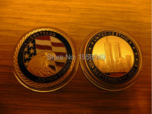 911 gold clad coin liberty with justice for all+ free shipping 5pcs/lot newest designs 24k gold bullion round coins