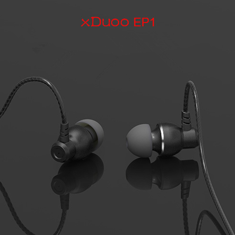 2017 New Original XDuoo EP1 In Ear Earphone HIFI Subwoofer Music Player Earphones Stereo Running Sport Earphone Noise Cancelling<br>