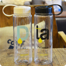 High Quality 550mL Leak Proof and Dust Free Lid Bicycle Camping Sport Plastic Drink Water Bottle BPA Free Student Water Bottle