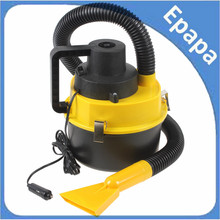 Big discount New Portable 12V Wet & Dry Auto Car Dust Vacuum Cleaner with Brush / Crevice / Nozzle Head