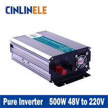 Smart Series Pure Sine Wave Inverter 500W CLP500A-482 DC 48V to AC 220V 500W Surge Power 1000W Power Inverter 48V 220V