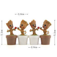 Q version of the tree elves Shuren flowerpot DIY hand to do micro landscape gardening landscape fleshy moss doll(China)