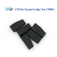 HOT!!! Wholesale CN5 car key chip copy for Toyota G auto transponder CN5 chip for CN900 ND900 10pcs/lot Free Shipping(China)