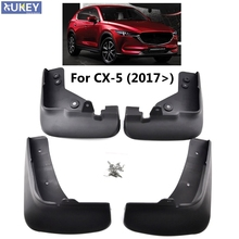 Front Rear Car Mud Flaps For Mazda CX-5 CX5 2nd Gen KF 2017 2018 Mudflaps Splash Guards Mud Flap Mudguards Car Accessories(China)