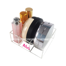 Aila Acrylic Makeup Organizer Practical Clear Lipstick Organizer Powder Compact Case Holder Cosmetic Beauty Storage Cases(China)