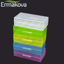 ERMAKOVA 5 Pcs/Lot Battery Storage Box Hard Plastic Battery Case Container Holder Organizer for 18650 16340 CR123A Battery(China)