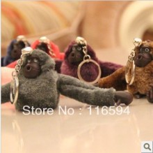 6CM gorilla stuffed keychain plush keychain toys animals 20pcs/lot