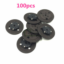 E-house 100pcs CD Laser Disc Holder Motor Cap for Playstation 1 PS1 Replacement Spindle Hub
