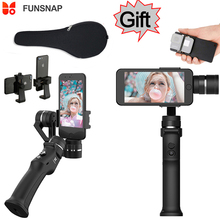 Funsnap захвата 3 оси телефон ручка Gimbal стабилизатор steadicam для смартфонов iPhone X 8 VS Zhiyun гладкой 4 Feiyu vimble 2(China)