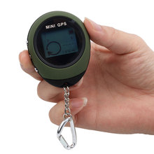 Keychain Mini Handheld GPS Navigation USB Rechargeable Location Tracker Portable Travel Compass For Climbing Outdoor Activity(China)