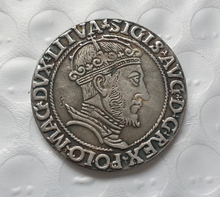 Poland - Litva : VI GROSS 1547 - SIGISMUND COIN COPY FREE SHIPPING(China)