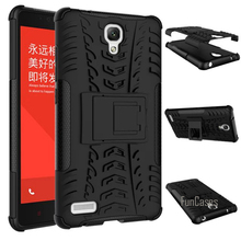 For Xiaomi Hongmi Redmi Note 1st Gen Case 5.5inch Hybrid Kickstand Dazzle Rugged Rubber Armor Hard PC+TPU Stand Function Cover(China)