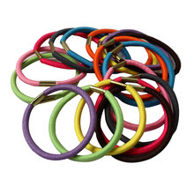 10 Pcs Women Girl Elastic Hair Rubber Rope Scrunchie Ponytail Holder Bands hairband(China)