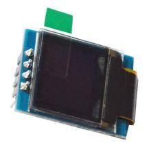 NoEnName_Null 0.66 inch OLED module 4 pin I2C display screen With PCB base board 3.3V-5V power supply
