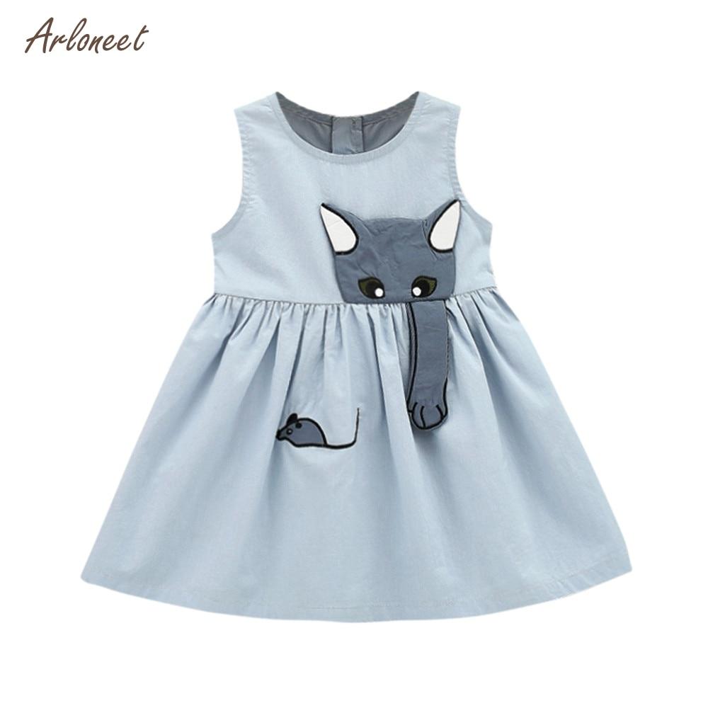 Toddler Kids Baby Girls Cami Bowknot Dress Princess Lace Formal Sundress 0-3Y