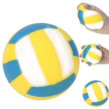 1 pc Volleyball Squishy Slow Rising Cream Scented Decompression Toys For Kid Toys Dropship Y1127(China)