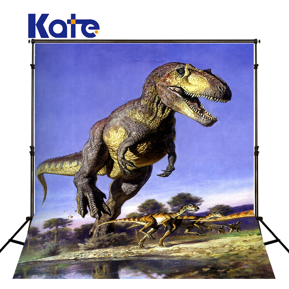 150x220cm Kate 3D Dinosaurs Backgrounds for Photo Studio  Ancient Forest  Scenic Photography Backdrops Children Backdrops<br>