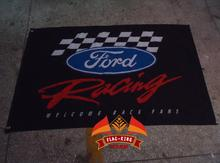 ord car racing team flag,Ford car club banner,90*150CM polyster flagking brand flag(China)