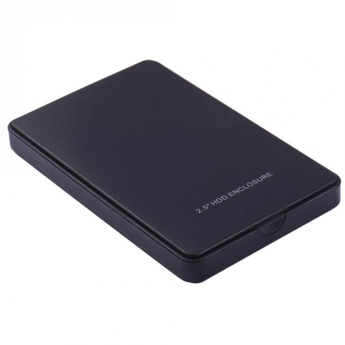 HDD Case 2.5 Inch External SATA Hard Disk Drive SSD Case 2TB USB 2.0 HDD Enclosure EM88