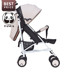 2017 Babypanda New baby tricycle children strollers for newborn babies hot khaki children bicycles stroller mini light can fold
