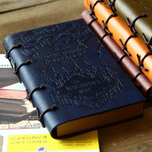 New High Quality Creative bands Vintage Pu Leather NoteBook School Note Book travel  Daily notebooks 246