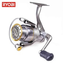 RYOBI EXCIA Spinning Reel Metal 8+1BB Max Drag 8kg Carp Fishing Reel Moulinet Spinning Leurre Gear Ratio 4.9:1 Pescaria Material(China)