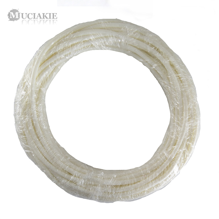 MUCIAKIE 5m/10m/20m 4/7 mm White PVC Hose Tubing for Garden Watering Micro Drip Pipe Sprinkling Irrigation System Fittings