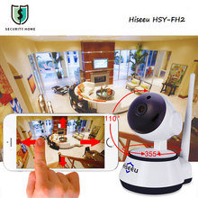 Hiseeu IP Motion Detection Camera WiFi Wireless Smart Security Camera Micro SD Network Rotatable Defender Home Telecam HD Cctv