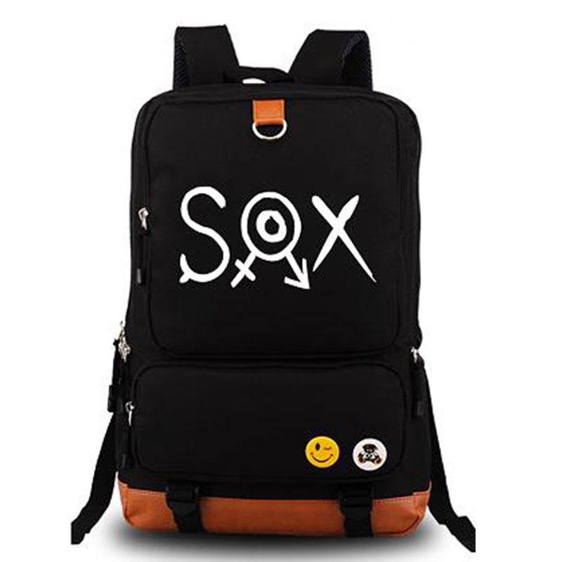 Shimoneta to Iu Gainen ga Sonzai Shinai Taikutsu na Sekai SOX School Bags Men Women Luminous Backpack Rucksack Schoolbag<br><br>Aliexpress