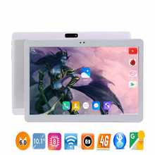 RAM 4GB ROM 64GB tablet 10 inch mediatek android tablet octa core computer tablets android 6.0 smart tablet pc with metal case