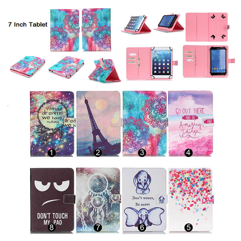 Cute Stand Magnetic Tablet Case Cover For Prestigio MultiPad Wize 3037 3G PMT3037 7 Inch Universal Cases Gift screen film<br><br>Aliexpress