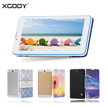 XGODY K706 7 Inch Tablet PC Android 4.4 8GB 3G Phablet OTG Supported with Tablet Case Cover WiFi Tablet
