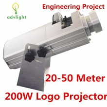 Logo Projector Laser Light 20-50 Meter High Resolution Shop Big Mall Restaurant Waterproof IP20 Government Engineering Project