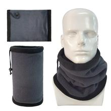 NEW Winter Sport Ring Scarves Fleece Neck Warmer Snood Scarf Hat Unisex Thermal Ski Wear Snowboard Multifunctional