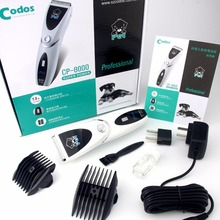 Codos CP-8000 Dog Hair Trimmer Pet Hair Clippers Pets Dogs Ceramic Blades Haircut Shaver Machine Cat Animal Hair Clipper(China)