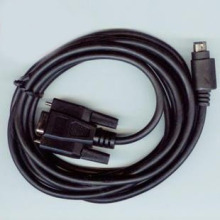 Communication Cable for MD204L OP320 Text Display to Mitsubishi Siemens Omron LG Xinjie Delta Schneider PLC etc.