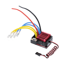 QUICRUN Series 860 Waterproof Brushed ESC 60A with 5V/3A Linear Mode BEC for 1/8 RC Car Parts