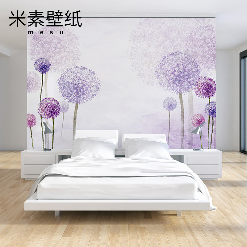 2016 Photo Wallpaper Papier Peint M In Modern Minimalist Mural Wallpaper 3d Bedroom Tv Background Wall Paper Romantic Flowers <br><br>Aliexpress