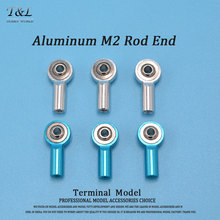 Good Quality M2 Aluminuml Tie Rod End Ball Head Bracket  For Rc Car