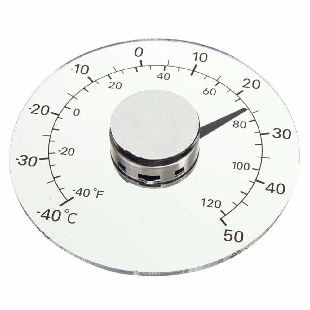 Термометр по Фаренгейту/градус Цельсия прозрачный Круглый наружный оконный