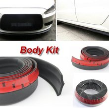 Car Bumper Lip Deflector Lips For Mitsubishi Dignity / Front Spoiler Skirt For Auto to Car Tuning View / Body Kit / Strip