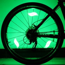 Fancy Flashing LED Bike Bicycle Cycling Wheel Wire Tyre Bright Spoke Light Lamp 1 PCS